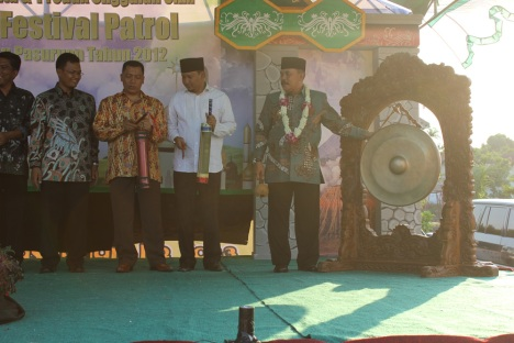 Bupati Pasuruan membuka acara secara resmi