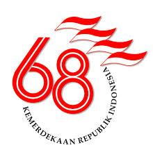logo hut kemerdekaan ri 68 tahun 2013